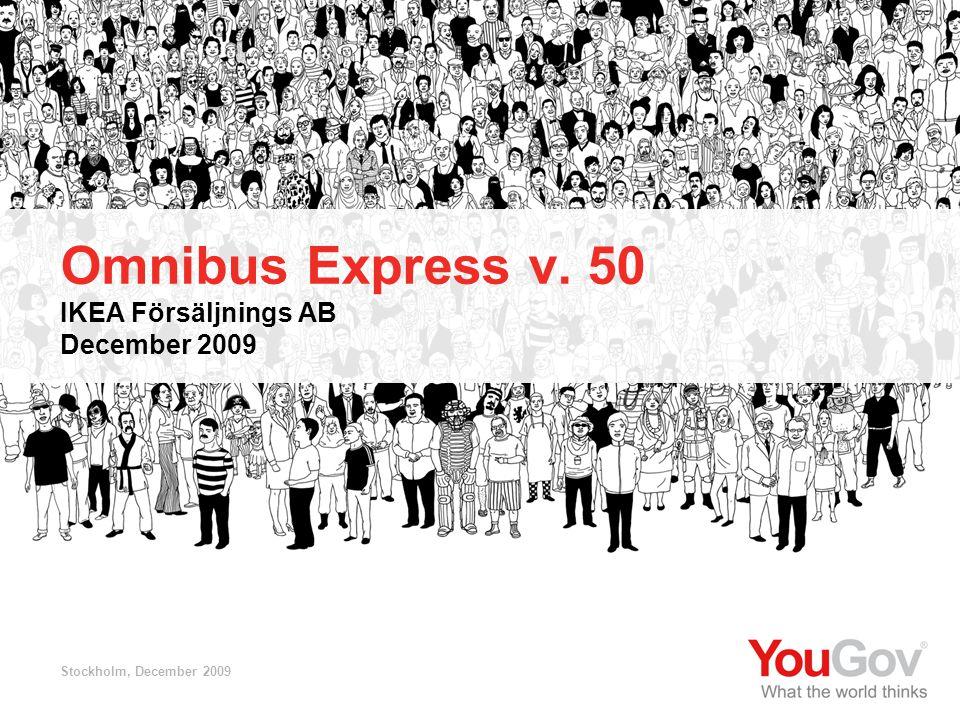 Omnibus Express v. 50 IKEA Försäljnings AB December 2009