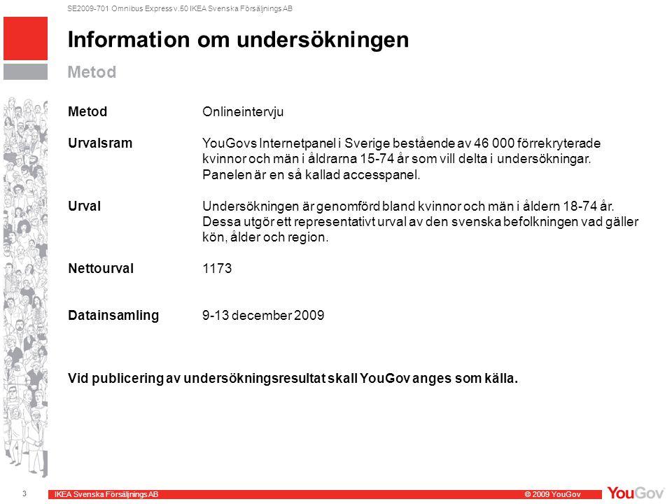 Information om undersökningen