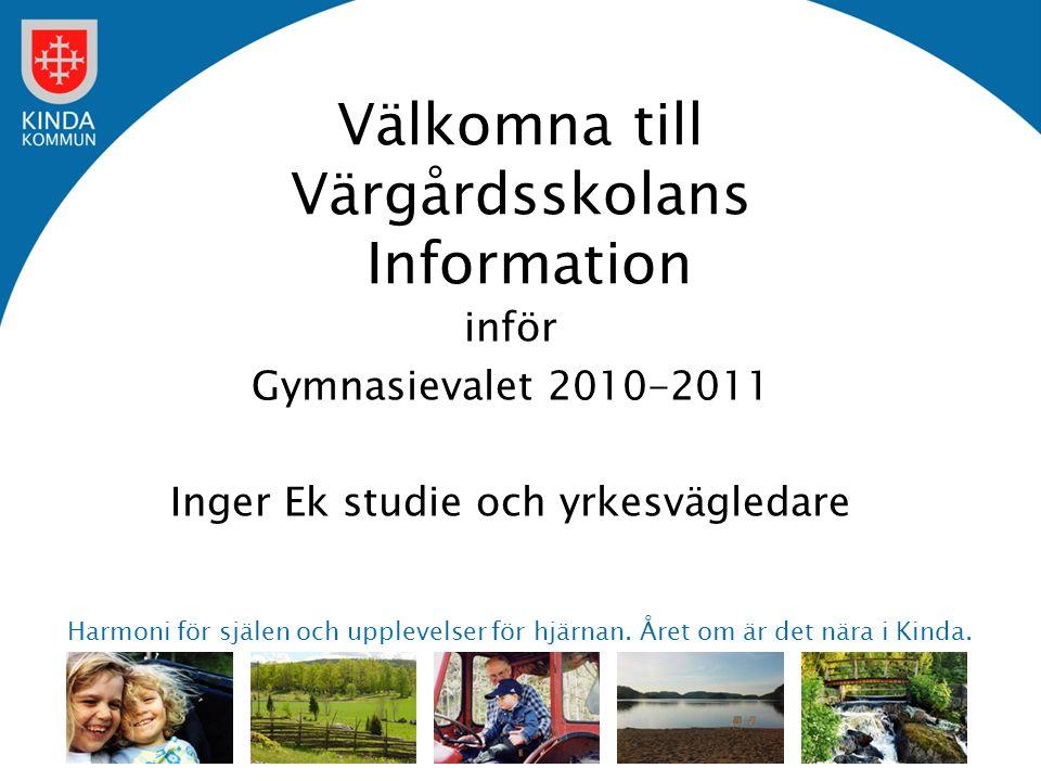 Välkomna till Värgårdsskolans Information