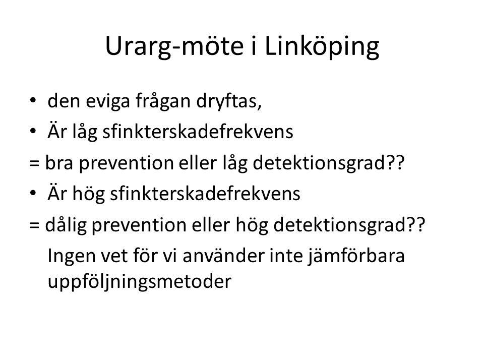 Urarg-möte i Linköping