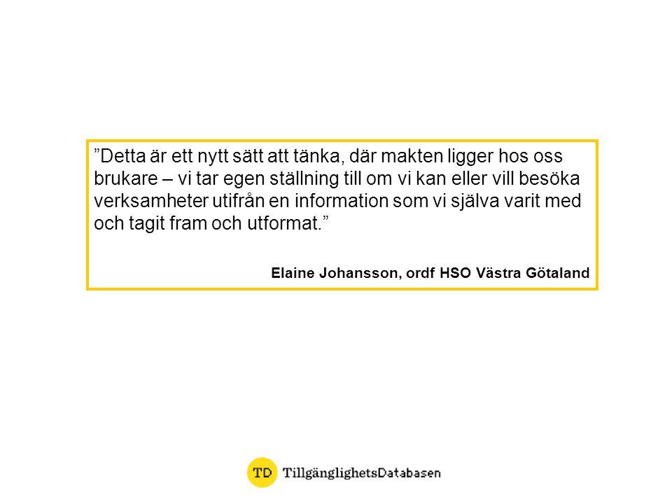 Elaine Johansson, ordf HSO Västra Götaland