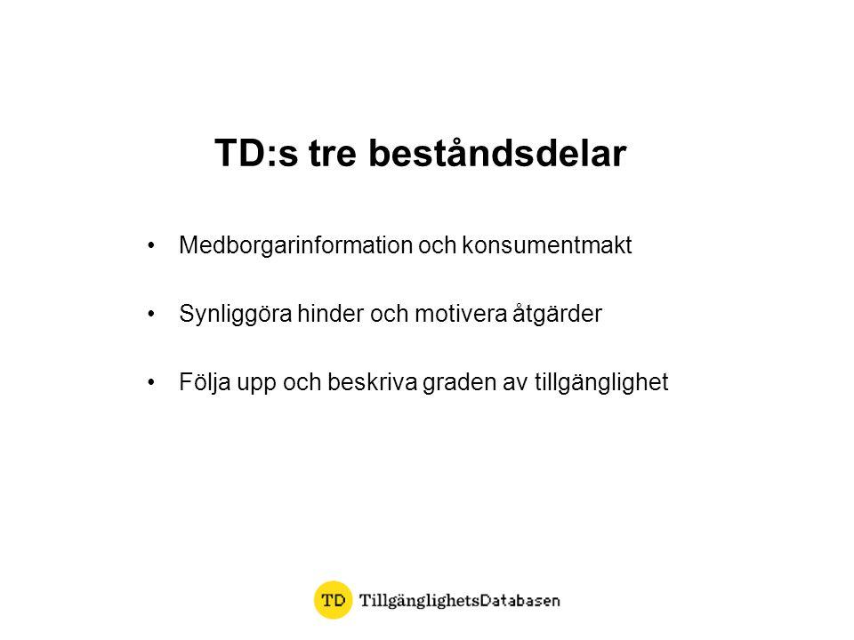 TD:s tre beståndsdelar
