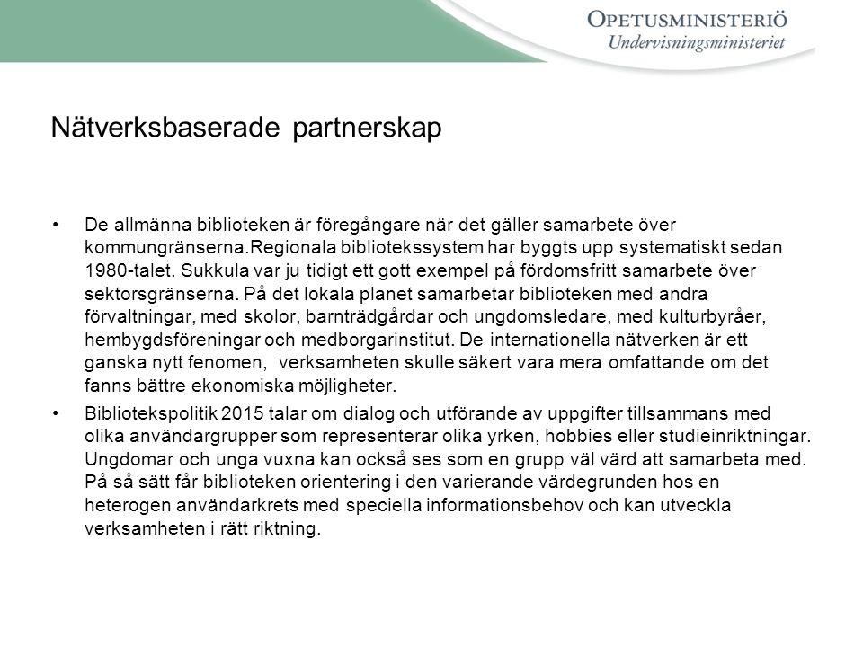 Nätverksbaserade partnerskap