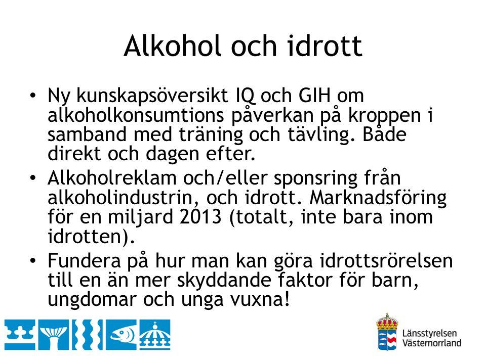 Alkohol och idrott