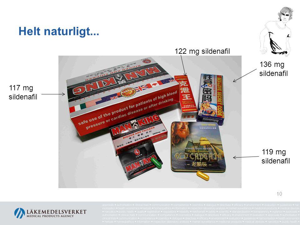 Helt naturligt... 122 mg sildenafil 136 mg sildenafil 117 mg