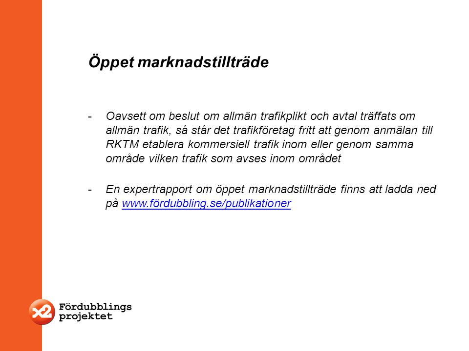 Öppet marknadstillträde