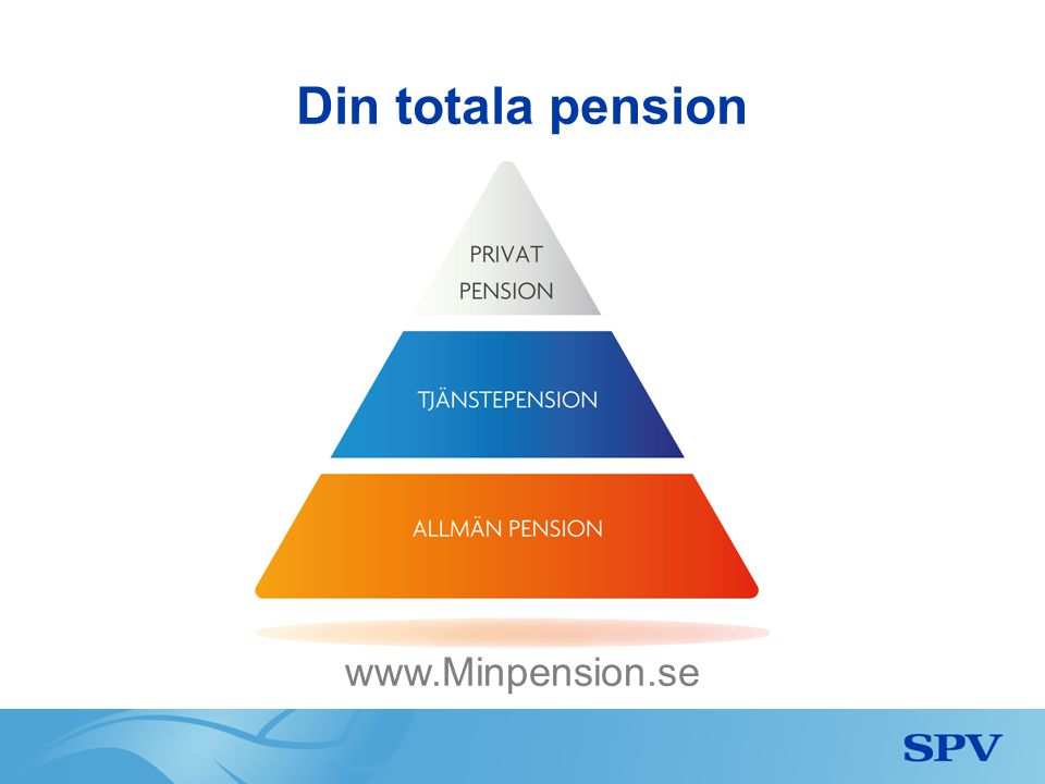 Din totala pension www.Minpension.se