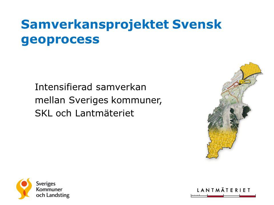 Samverkansprojektet Svensk geoprocess