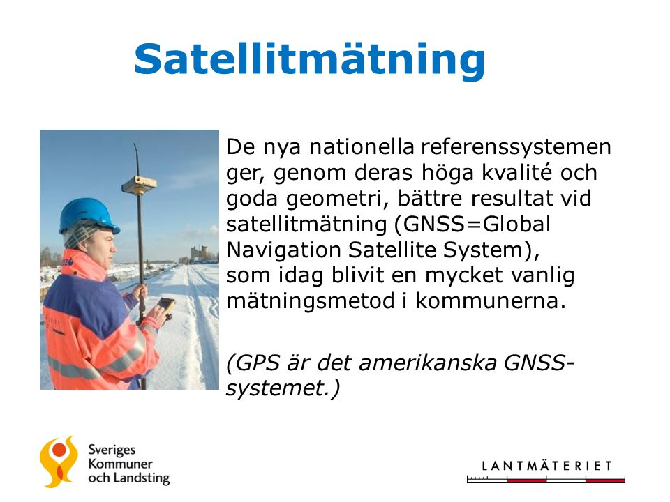 Satellitmätning