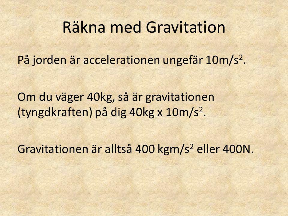 Räkna med Gravitation