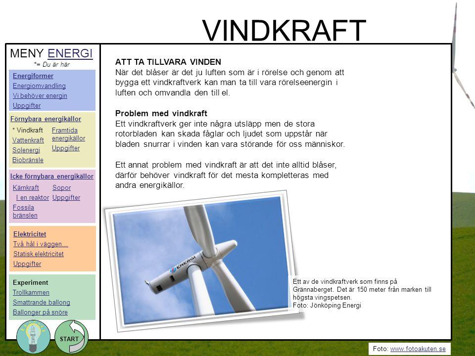 VINDKRAFT MENY ENERGI ATT TA TILLVARA VINDEN