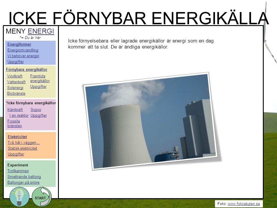 ICKE FÖRNYBAR ENERGIKÄLLA