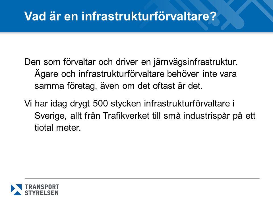 Vad är en infrastrukturförvaltare