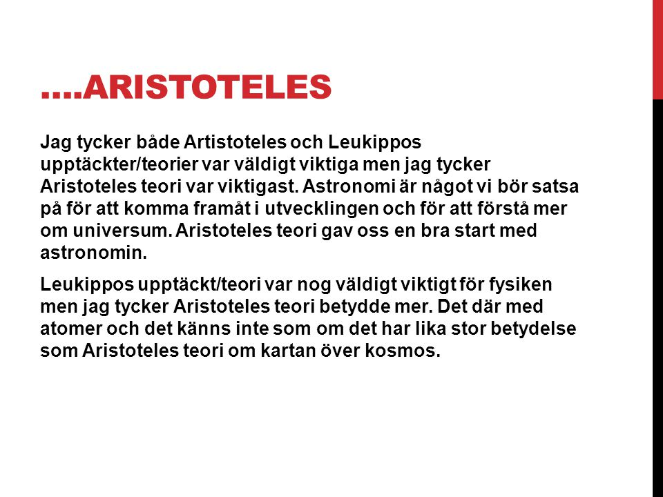 ….Aristoteles