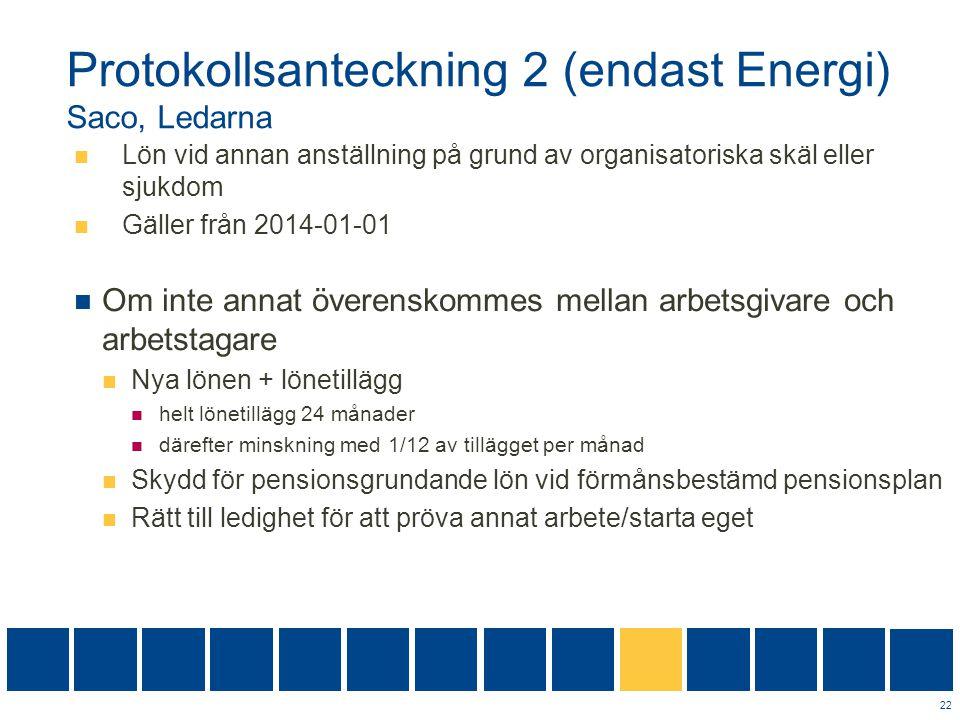 Protokollsanteckning 2 (endast Energi) Saco, Ledarna