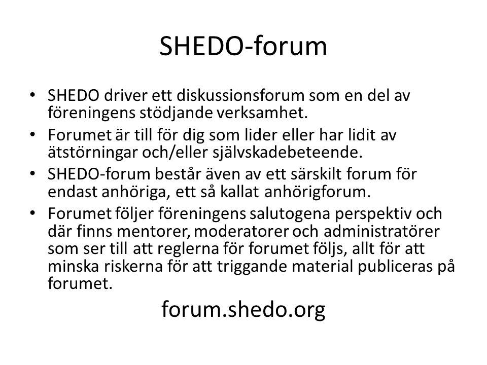SHEDO-forum forum.shedo.org