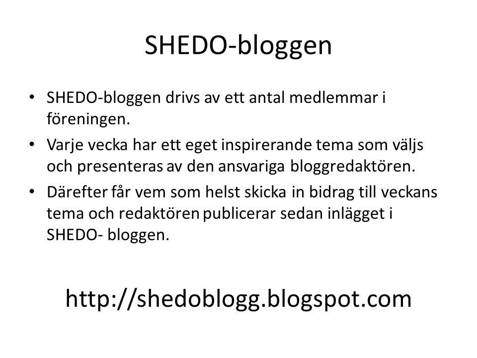 SHEDO-bloggen http://shedoblogg.blogspot.com