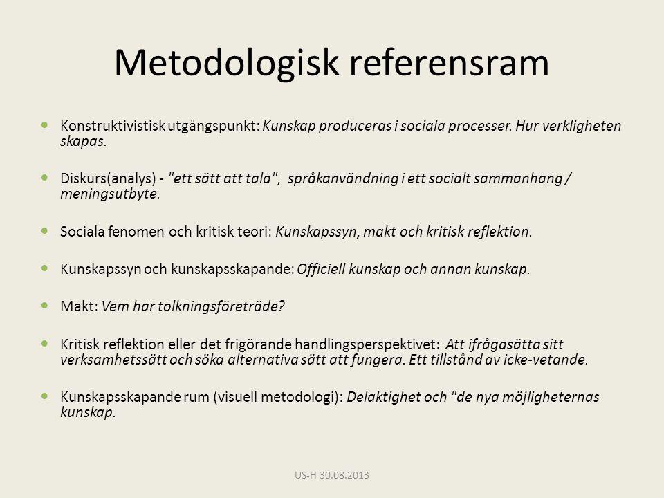 Metodologisk referensram