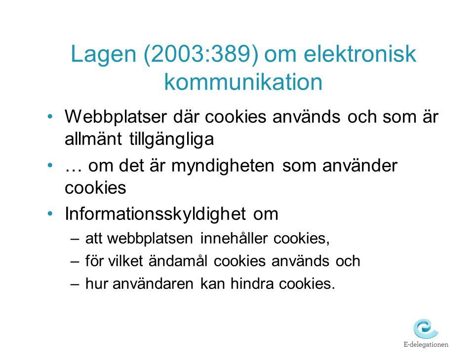 Lagen (2003:389) om elektronisk kommunikation