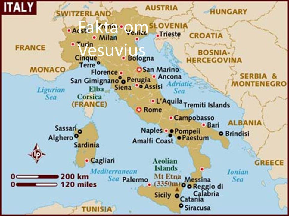 Fakta om Vesuvius