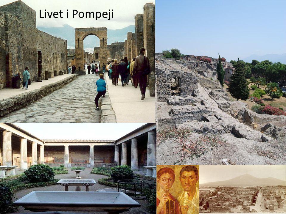 Livet i Pompeji