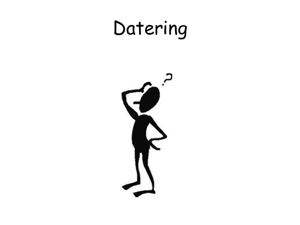 Datering