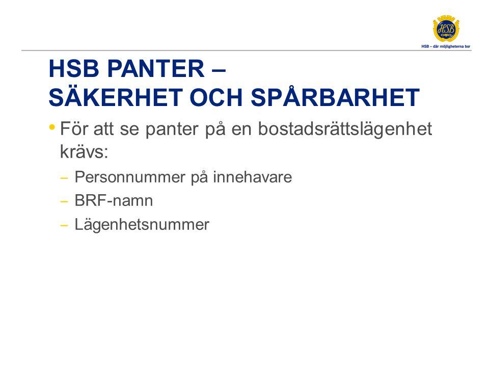 HSB Panter – visa aktuella panter