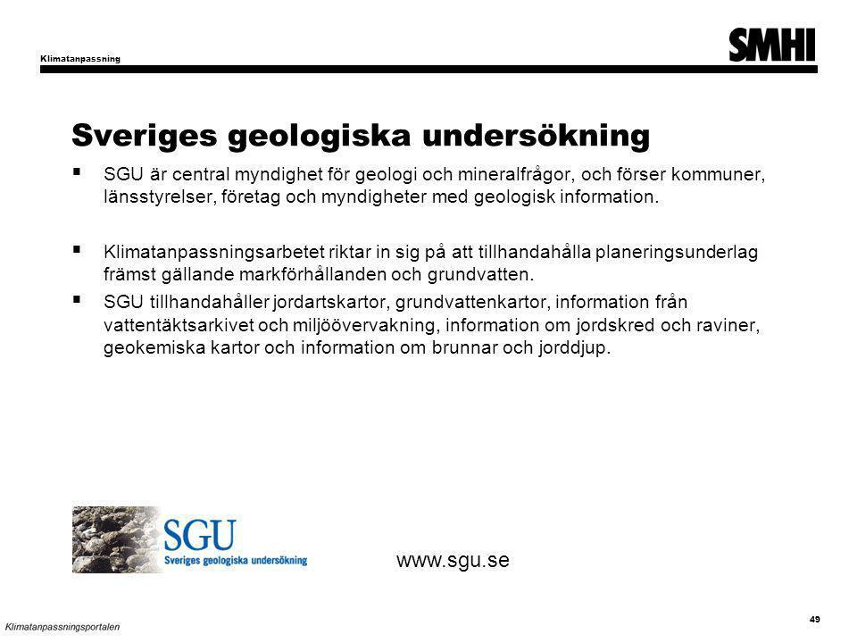 Sveriges geologiska undersökning