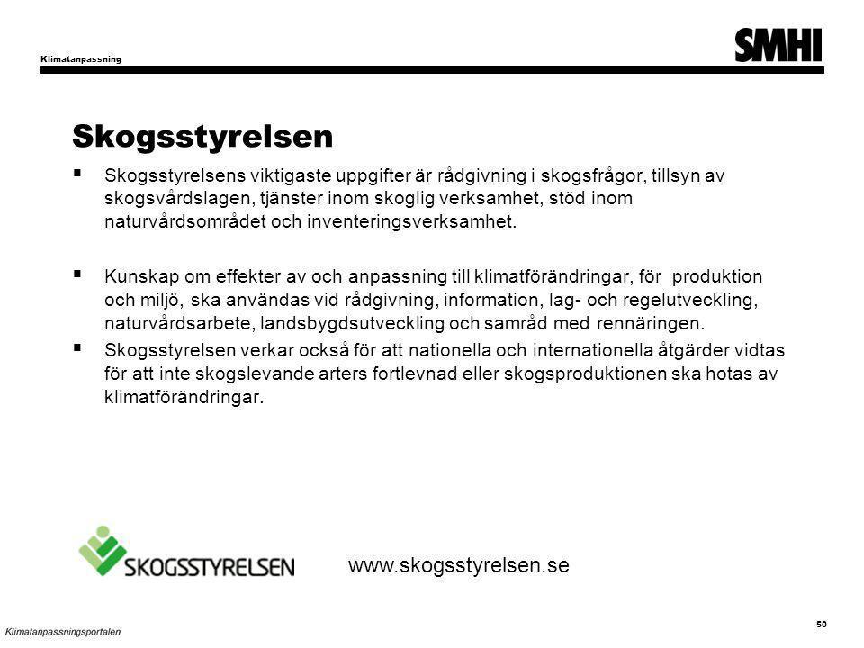 Skogsstyrelsen www.skogsstyrelsen.se