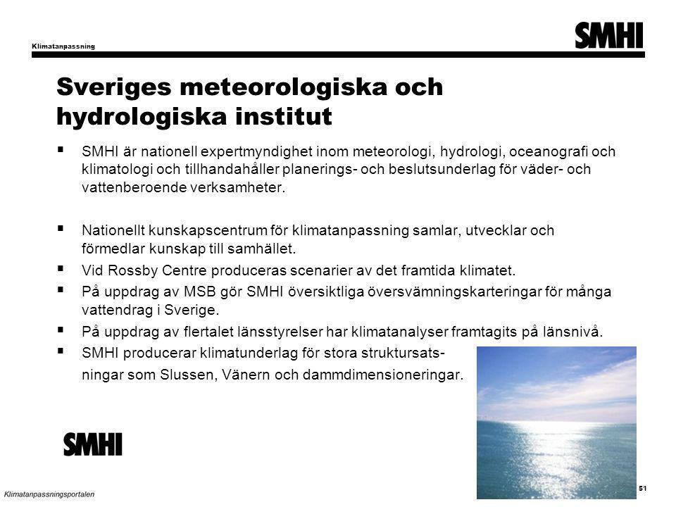 Sveriges meteorologiska och hydrologiska institut