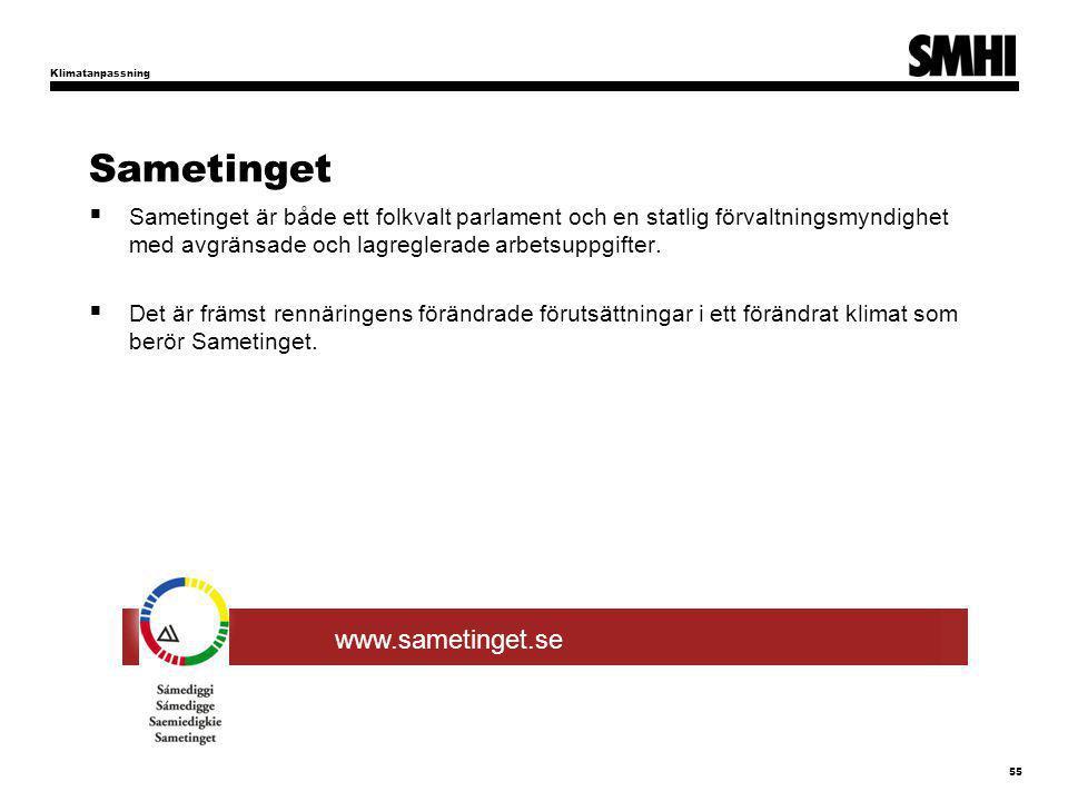 Sametinget www.sametinget.se