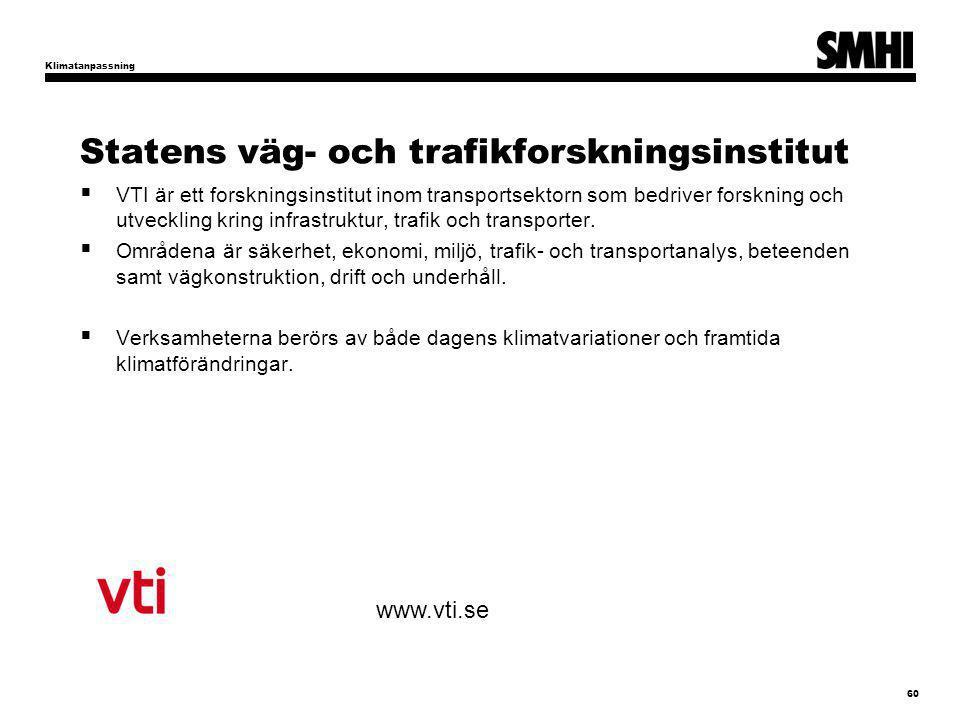 Statens väg- och trafikforskningsinstitut