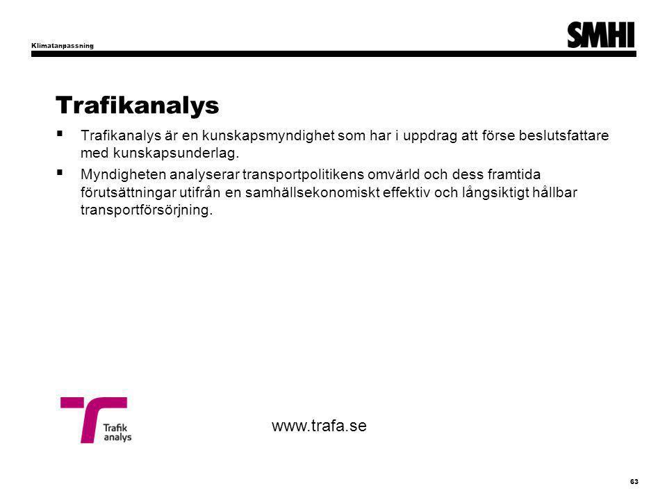 Trafikanalys www.trafa.se