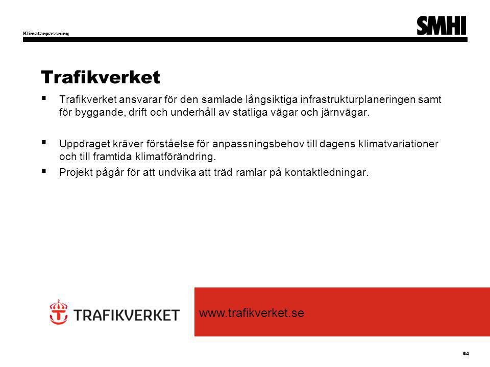 Trafikverket www.trafikverket.se