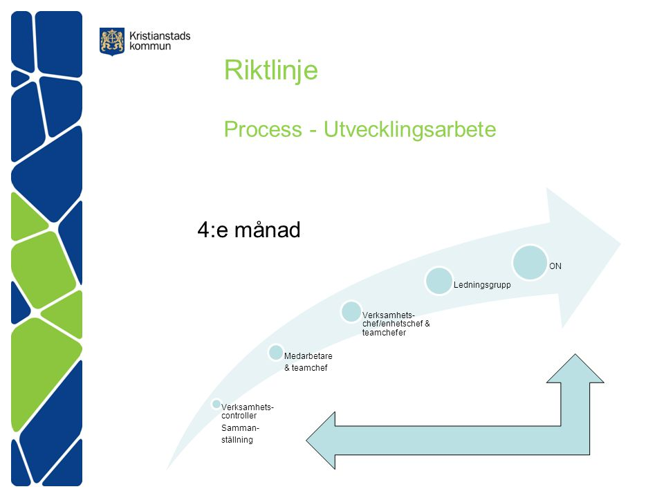 Riktlinje Process - Utvecklingsarbete