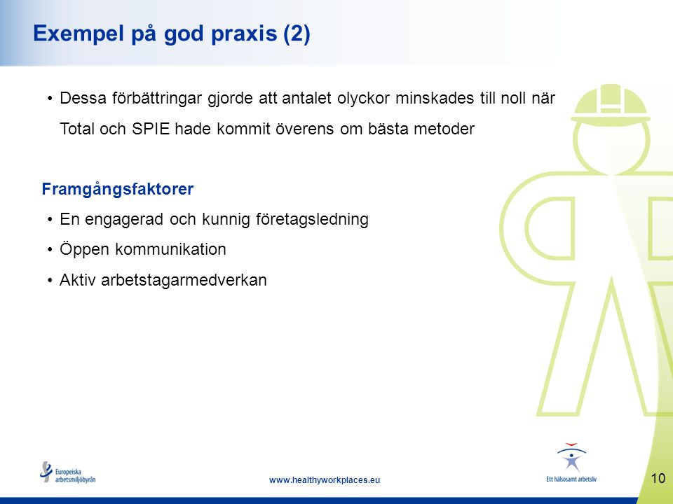 Exempel på god praxis (2)