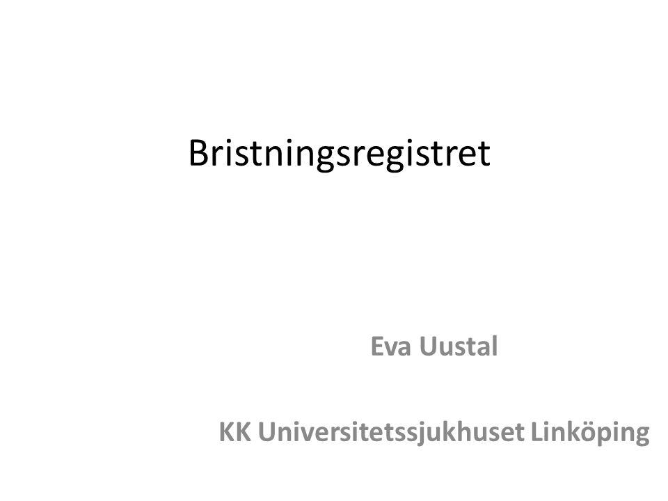 Eva Uustal KK Universitetssjukhuset Linköping