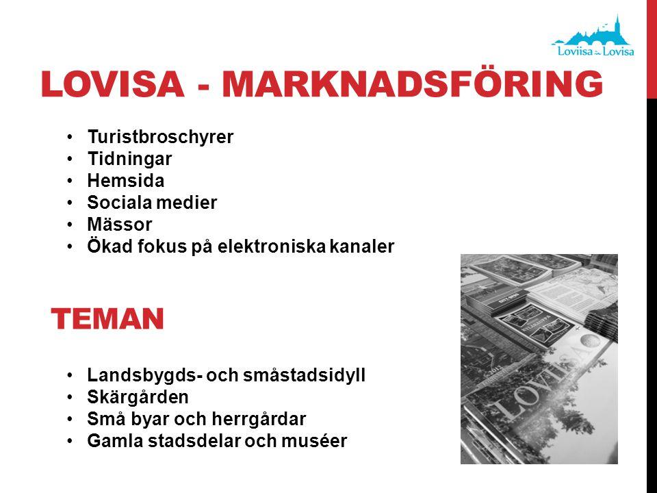 Lovisa - MARKNADSFÖRING