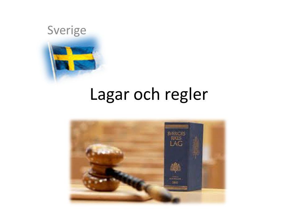 Sverige Lagar och regler