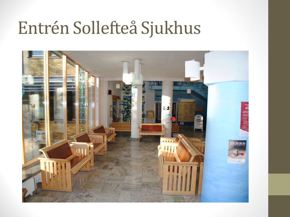 Entrén Sollefteå Sjukhus