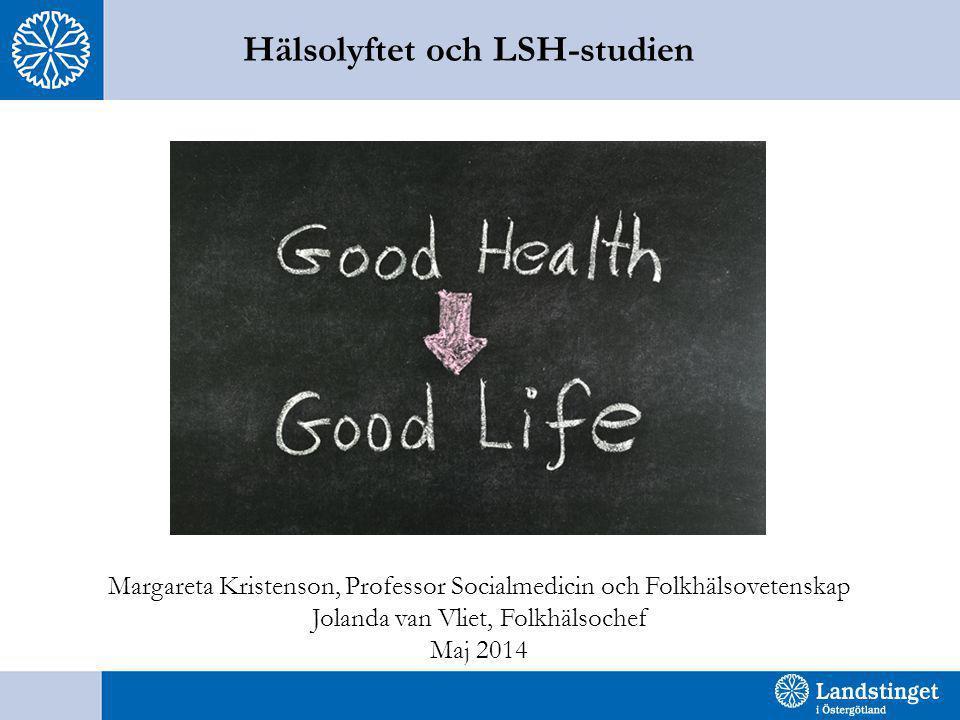 Hälsolyftet och LSH-studien