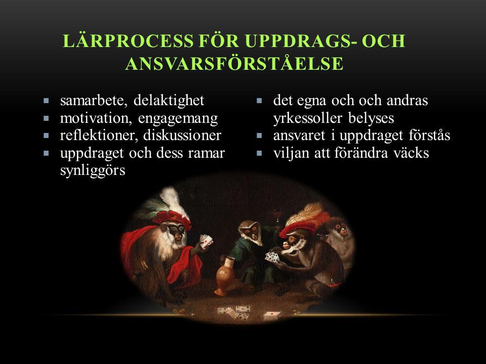 Lärprocess för uppdrags- och ansvarsförståelse