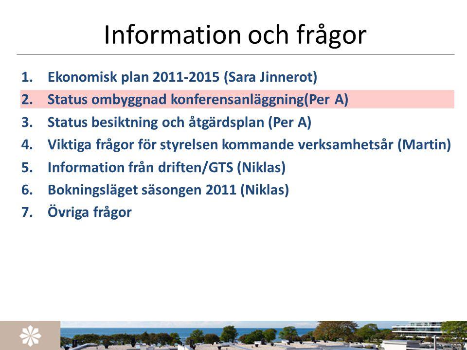Information och frågor