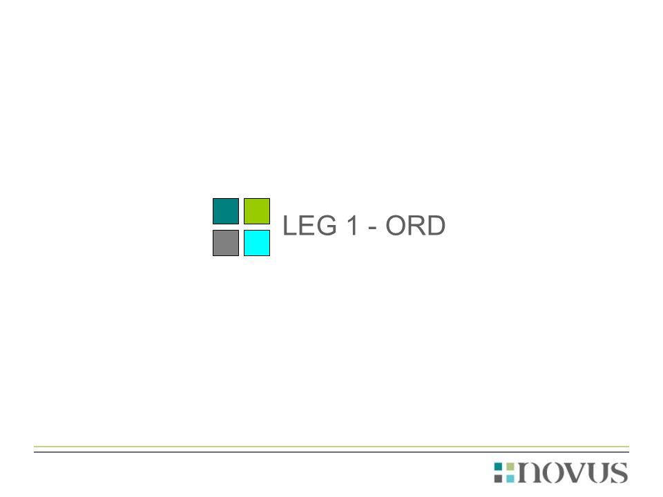 LEG 1 - ORD