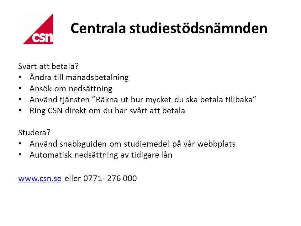 Centrala studiestödsnämnden