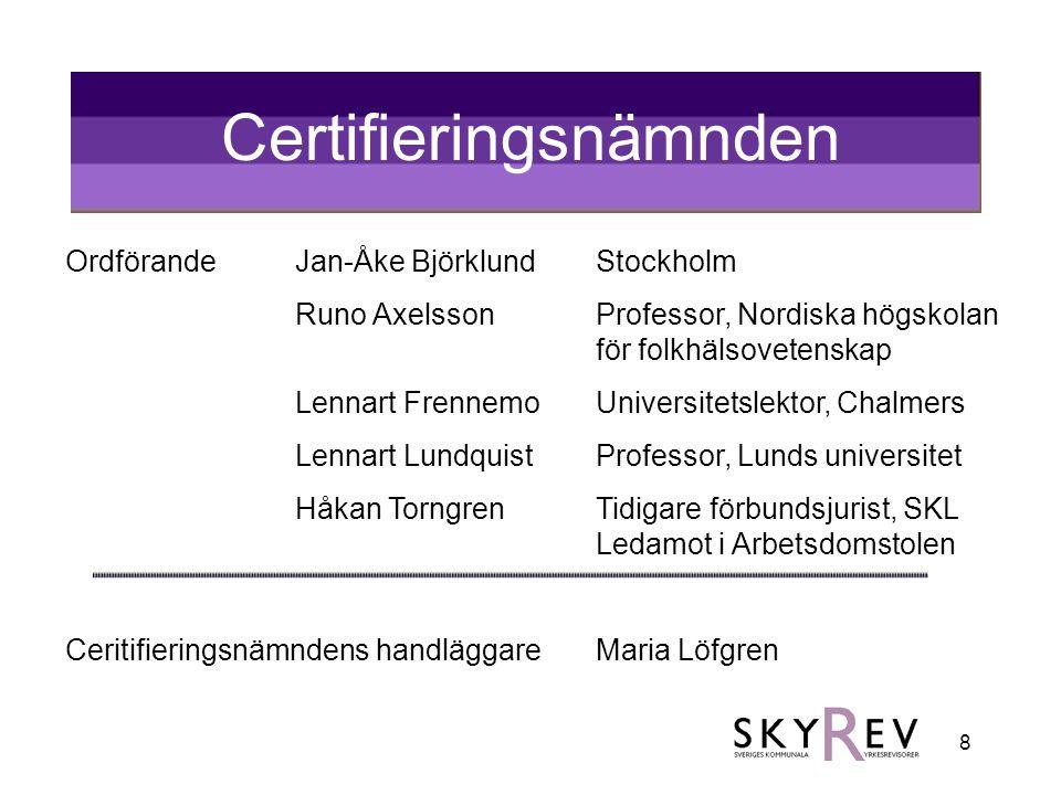 Certifieringsnämnden