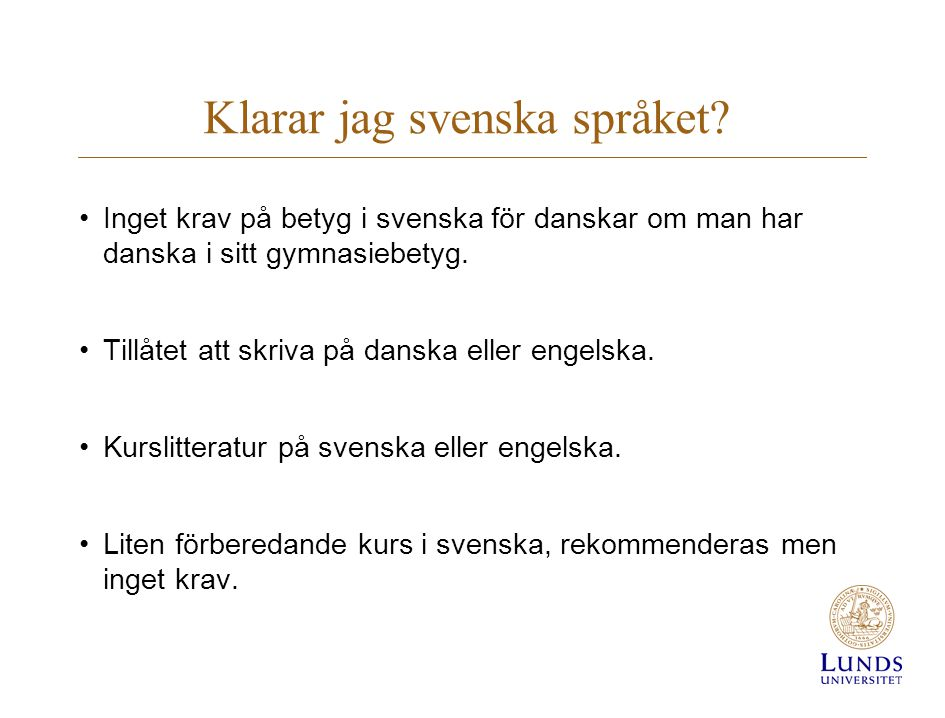 Klarar jag svenska språket