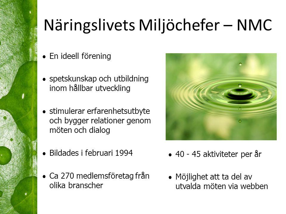 Näringslivets Miljöchefer – NMC