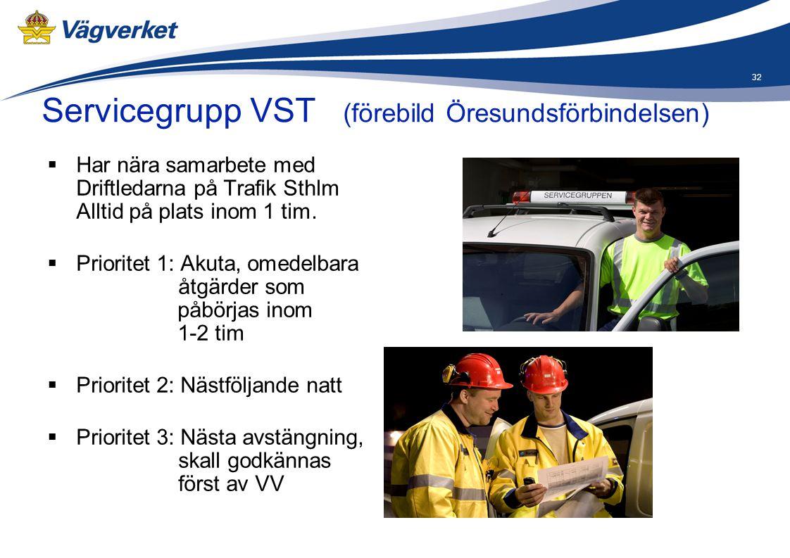 Servicegrupp VST (förebild Öresundsförbindelsen)