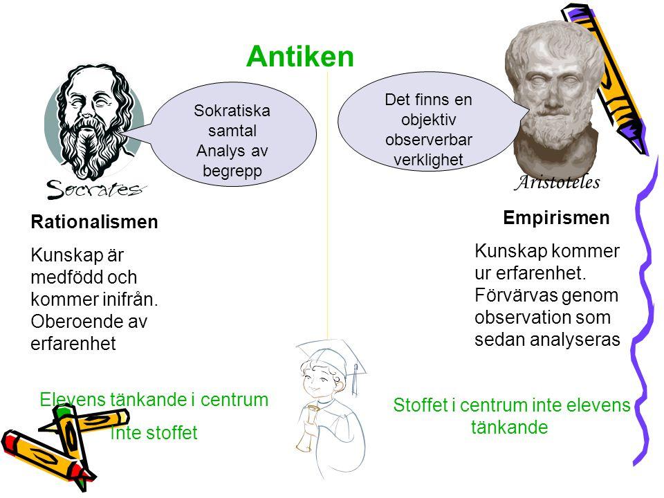 Antiken Aristoteles Empirismen